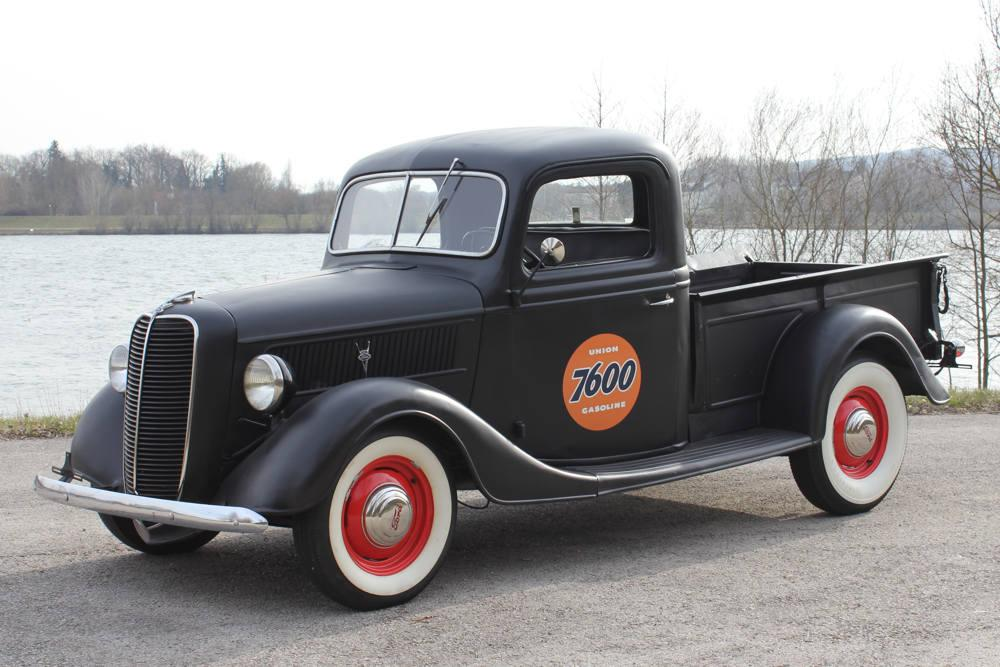 galerie ford pickup old style hot rod 1937. Black Bedroom Furniture Sets. Home Design Ideas